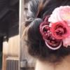 着物の簡単髪型!自分でできるまとめ髪ミディアムのやり方動画も!